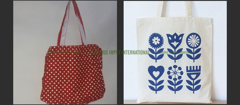 Cotton Handbags manufacturer, Exporter, Wholesaler in India