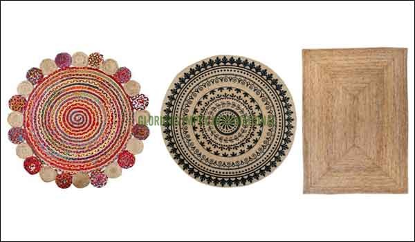Jute rugs supplier, exporter, manufacturer company in India