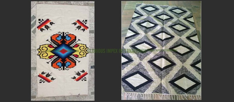 Cotton Rugs manufacturer, Exporter, Supplier in all India
