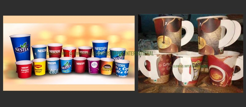 Disposable Paper Cup manufacturer, Exporter, Supplier in India